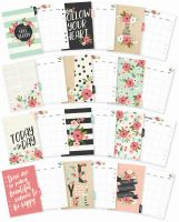 Simple Stories Carpe Diem - Bloom A5 Monthly Planner Inserts