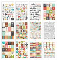 Simple Stories Carpe Diem - Recipe Recipe Sticker Tablet