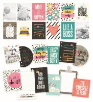 Simple Stories Carpe Diem - Planner Essentials Carpe Diem Dashboard and Pocket Cards