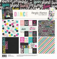 Simple Stories Dance Simple Set 12x12 Collection Kit
