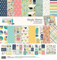 Simple Stories Domestic Bliss 12x12 Collection Kit