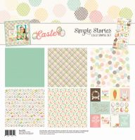 Simple Stories Easter Simple Set 12x12 Collection Kit