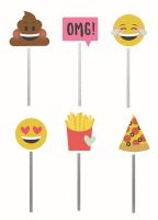 Simple Stories Carpe Diem - Emoji Love Decorative Clips