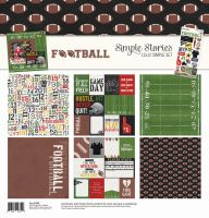 Simple Stories Football Simple Set 12x12 Collection Kit