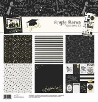 Simple Stories Grad Simple Set 12x12 Collection Kit