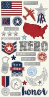Simple Stories Simple Set -- Hero 6x12 Fundamental Stickers