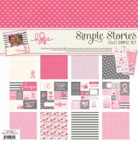 Simple Stories Simple Set -- Hope (6) 12x12 sheets, (2) 6x12 stickers