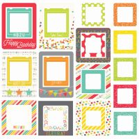 Simple Stories Let's Party Chipboard Frames