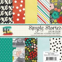 Simple Stories Life in Color 6x6 pad