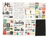 Simple Stories Life in Color Stickers