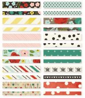 Simple Stories Life in Color Washi Paper Tape