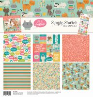 Simple Stories Life is Purrfect Simple Sets 12x12 Collection Kit