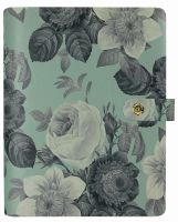 Simple Stories Carpe Diem - Beautiful Mint Vintage Floral Personal Planner