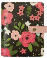Simple Stories Carpe Diem - Bloom Black Blossom Personal Planner Boxed Set