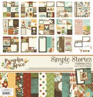 Simple Stories Pumpkin Spice 12x12 Collection Kit