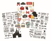 Simple Stories Say Cheese III Clear Stickers