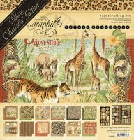 Graphic 45 Safari Adventure Deluxe Collector''s Edition