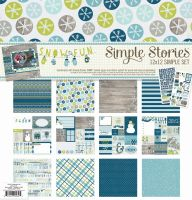 Simple Stories Snow Fun 12x12 Collection Kit