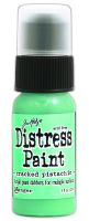 Cracked Pistachio Distress Paint by Ranger - Tim Holtz Distress Ink January Color Of The Month