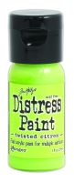 Tim Holtz Distress Paints 1oz. Flip Cap - Twisted Citron