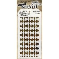 Stamper Anonymous Harlequin Stencil - Layering Stencil