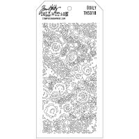 Stamper Anonymous Doily  Stencil - Layering Stencil
