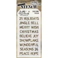 Stamper Anonymous Xmas Stencil - Layering Stencil