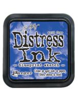 Blueprint Sketch Distress Ink Pad by Ranger - Tim Holtz Distress Ink July Color Of The Month