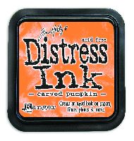 Carved Pumpkin Distress Ink Pad by Ranger - Tim Holtz Distress Ink October Color Of The Month