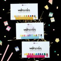 Prima Marketing Watercolor Confections Bundle (The Classics, Tropical, Decandent Pies)