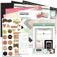 We R Memory Keepers Love Notes 12x12 I Want It All Bundle