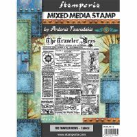 Stamperia Stamp cm 15x20 Sir Vagabond The traveler news