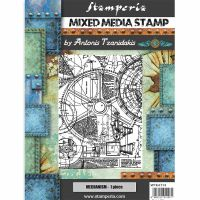Stamperia Stamp cm 15x20 Sir Vagabond mechanism
