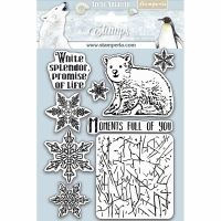 Stamperia HD Natural Rubber Stamp  cm.14x18 Moments full of you