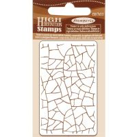 Stamperia HD Natural Rubber Stamp  cm. 7x11 Cracklé