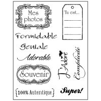 Stamperia High Definition Stamp cm.14x18 Photos