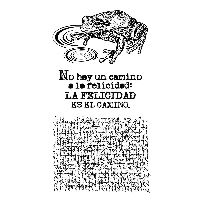 Stamperia HD Natural Rubber Stamp cm.10x16,5 Cosmos frog