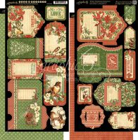 Graphic 45 Winter Wonderland Tags & Pockets