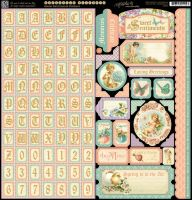 Graphic 45 Sweet Sentiments Stickers