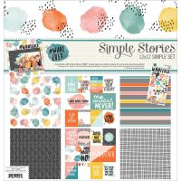 Simple Stories #whatever Simple Sets Collection Kit 12