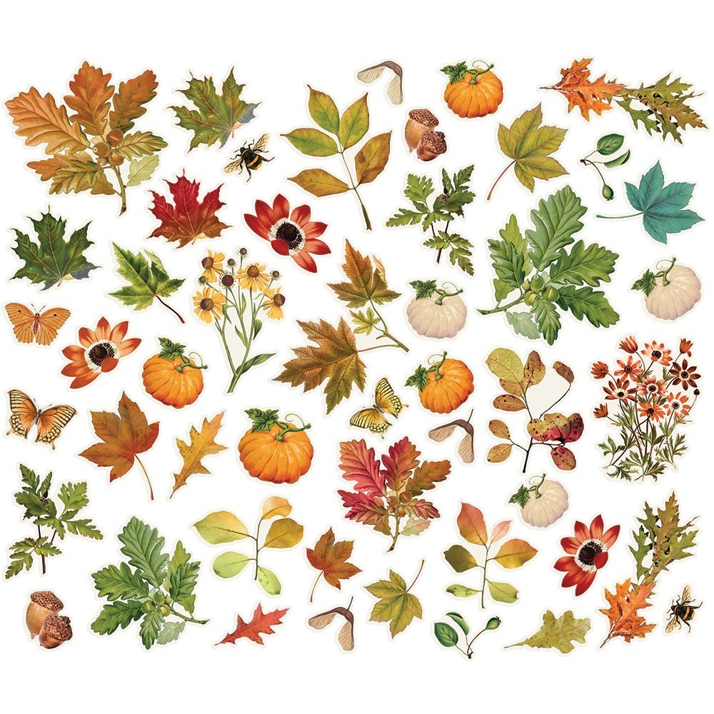 Simple Stories Simple Vintage Autumn Splendor Foliage Bits & Pieces