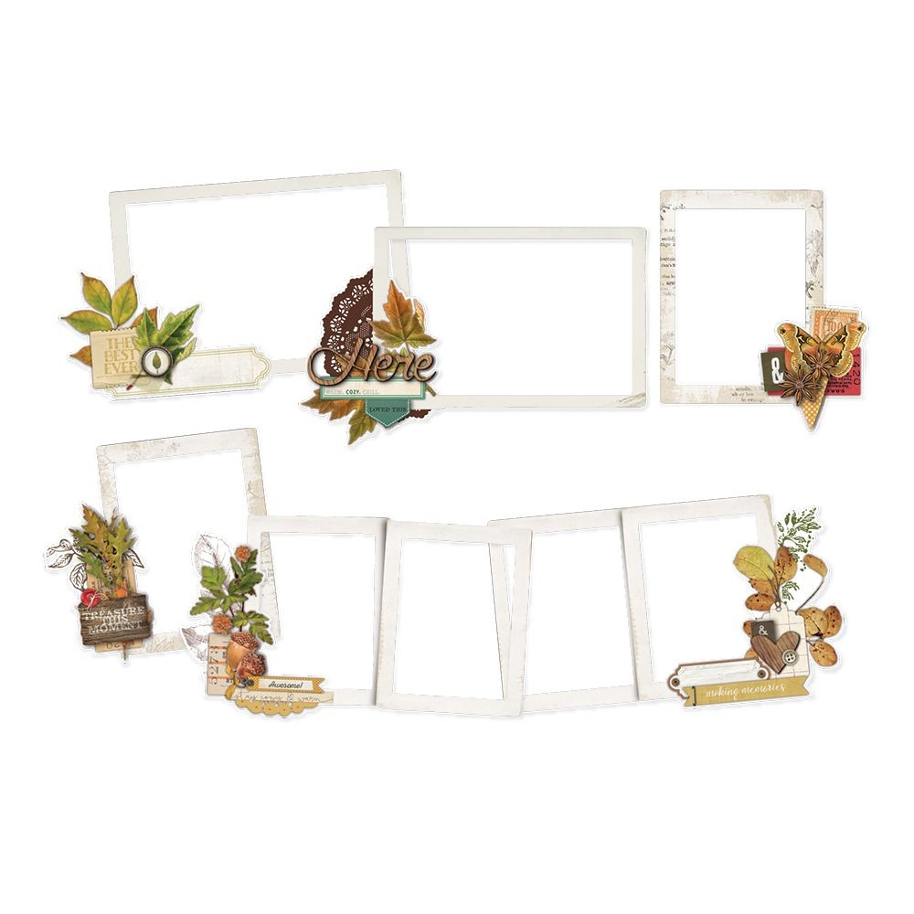 Simple Stories Simple Vintage Autumn Splendor Layered Frames