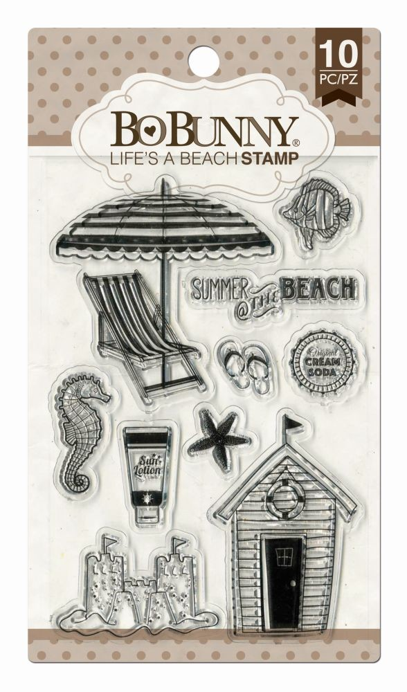 Image result for lifes a beach bobunny stamp