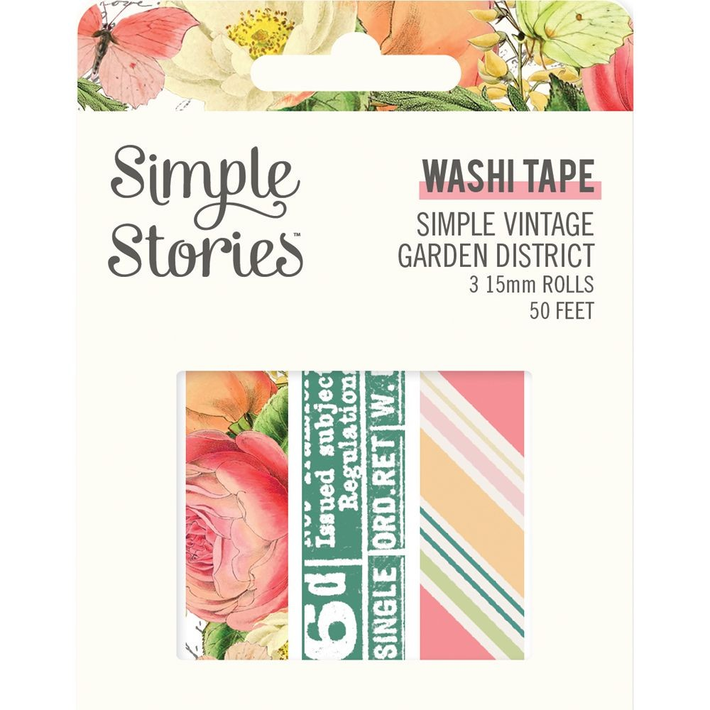 Simple Stories Simple Vintage Garden District Washi Tape