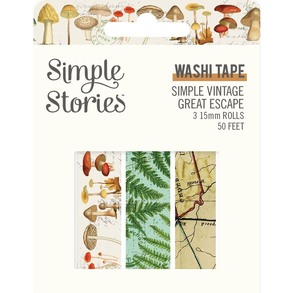 Simple Stories Simple Vintage Great Escape Washi Tape