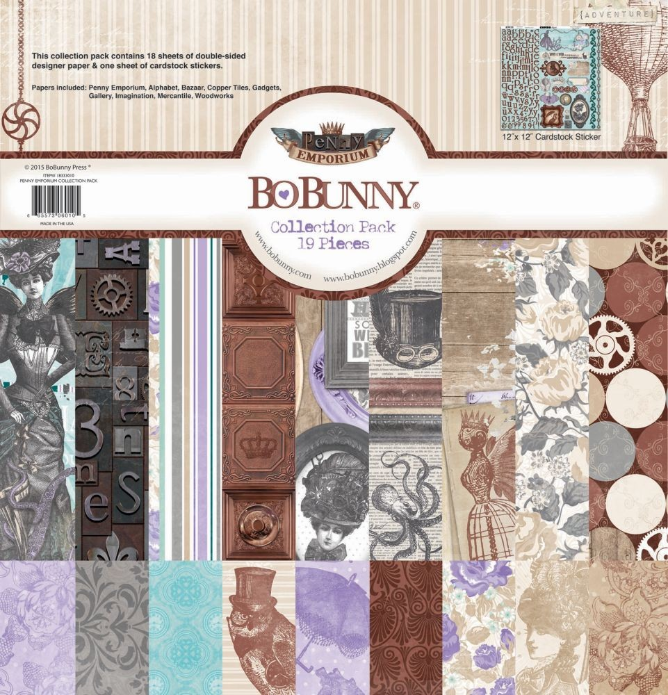 Bo Bunny Penny Emporium 12x12 Collection Pack