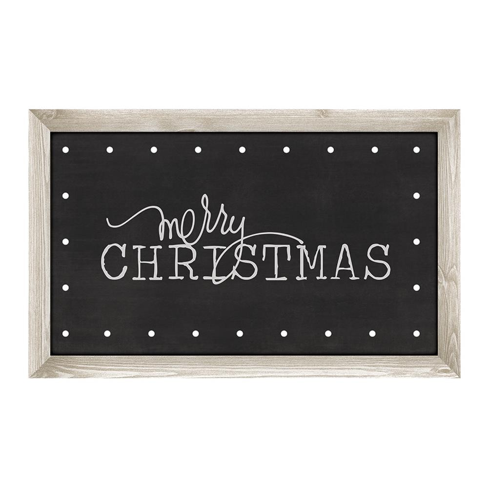 American Crafts Heidi Swapp Marquee Love Plastic Shape Kit - Merry Christmas
