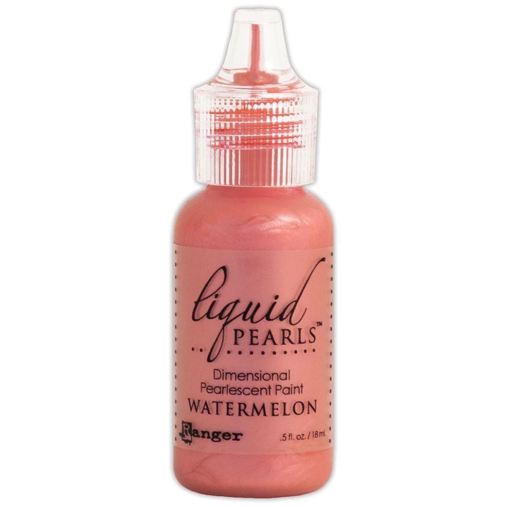 Ranger Liquid Pearls Dimensional Pearlescent Paint .5oz-watermelon