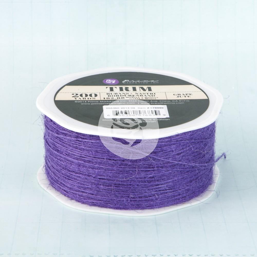Prima Marketing Jute- Grape