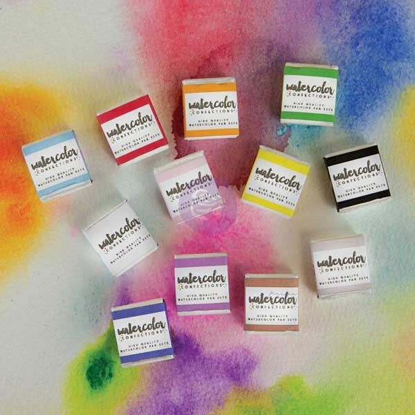 Prima Marketing Watercolor Confections: The Classics
